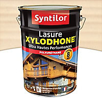 Lasure Xylodhone Syntilor Blanc 5L garantie 8 ans