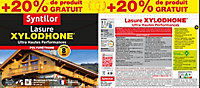 Lasure Xylodhone Syntilor Incolore 5L + 20% - 8 ans