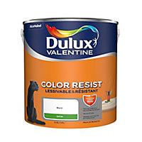 Libellé : Peinture murs, plafonds et boiseries Dulux Valentine blanc satin 2,5L