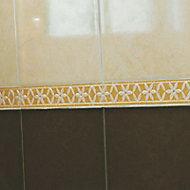 Listel beige 5 x 25 cm Tigli