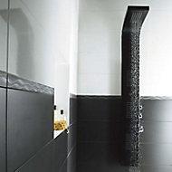 Listel noir 4 x 60 cm Brigitte
