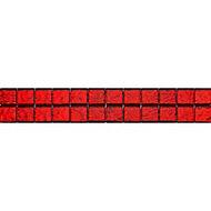 Listel rouge 5 x 30 cm Flamenco