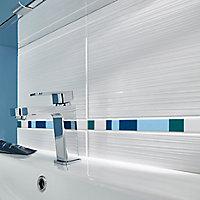 Listel Salerna 2x40cm bleu