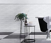Listel Vernisse 5x30 cm blanc