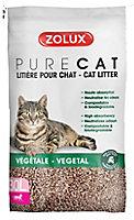 Litière végétale naturelle pour chat Purecat 30L
