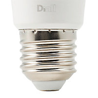 Lot 10 ampoules LED Diall E27 60W blanc chaud