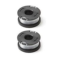 Lot 2 bobines pour coupe-bordures Mac Allister 430w