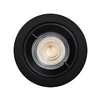 Lot 3 spots à encastrer Caius LED GU10 Ø8,5cm IP44 345lm 50W 5.2W GoodHome Blanc neutre