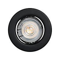 Lot 5 spots à encastrer Chancey LED GU10 Ø8,5cm IP20 345lm 50W 5.2W Blanc chaud