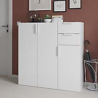Lot de 2 tiroirs blancs GoodHome Atomia H. 18,5 x L. 33,9 x P. 30 cm