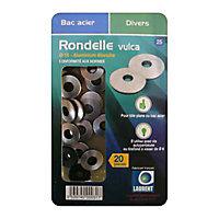 Lot de 20 rondelles Vulca aluminium étanche Ø 16 mm