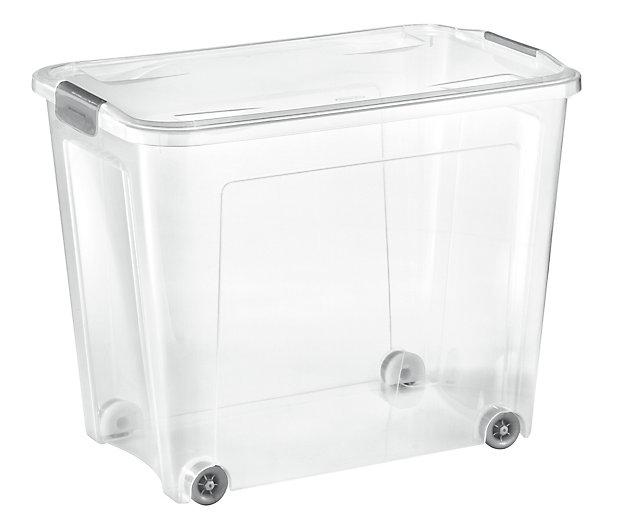 Lot De 3 Boites De Rangement Combi Box 67l Castorama