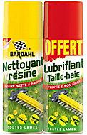 Lot nettoyant anti résine Bardhal 200ml + lubrifiant taille haie