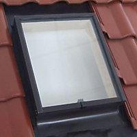 Lucarne de toit ouvrant haut Geom Aero double vitrage 45 x h.55 cm