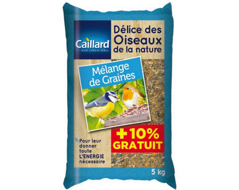 Melange De Graines 5kg 10 Gratuit Castorama