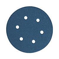 Maille abrasive pour ponceuse excentrique Norton ø 150 mm, Grain 80 - 5 pièces