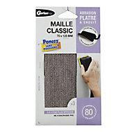 Maille plâtre 70 x 225 mm - Grain 80 Gerlon, Maille