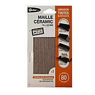 Maille universelles 70 x 125 mm - Grain 80 Gerlon, Maille