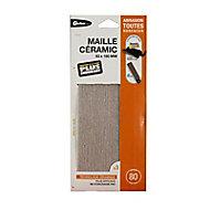 Maille universelles 93 x 180 mm - Grain 80 Gerlon, Maille