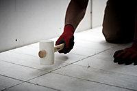 Maillet caoutchouc à poignée Magnusson 453g blanc