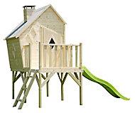 Maisonnette pour enfant déstructurée Pilotis & To