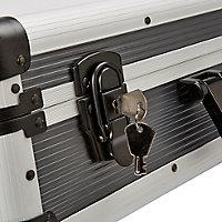 Mallette en aluminium Mac Allister avec mousse 50 cm