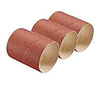 Manchon abrasif Bosch 60 mm - Grain 80, 3 pièces