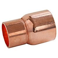 Manchon à souder réduit pour tube cuivre mâle Ø16 femelle Ø12, lot de 2