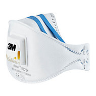 Masque anti-poussière avec valve FFP2 3M, 2 pièces