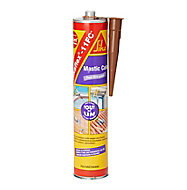 Mastic colle marron Sika Sikaflex 11 FC + 400 ml