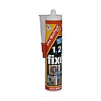 Mastic colle MaxTack Ultra Sika blanc 400g