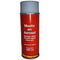 Mastic en aérosol 400 ml coloris gris