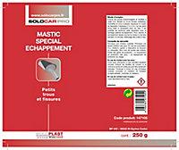 Mastic spécial echappement SolocarPro 250 g