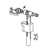 Membrane + insert pour robinet flotteur 95L/95B Siamp