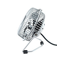Mini ventilateur USB TX-401D-U gris ø10 cm, 4W