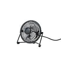 Mini ventilateur USB TX-401D-U noir ø10 cm, 4W