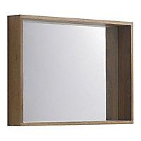 Miroir chêne massif Cooke & Lewis Harmon 90x65 cm