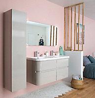 Miroir éclairant Cooke & Lewis Parentesi 105 x 60 cm