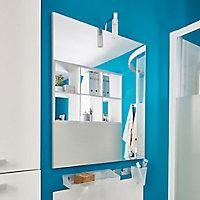 Miroir éclairant Cooke & Lewis Slapton 60 x 70 cm