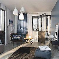 Miroir Hosta wood bleu 50 x 70 cm