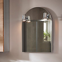 Miroir lumineux Cooke & Lewis Beauport 50 x 65 cm