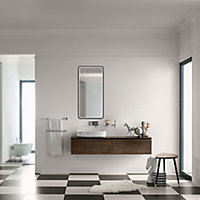 Miroir lumineux LED Lyon Chic 90 x 40 x 4,7 cm
