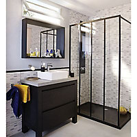 Miroir noir Cooke & Lewis Harmon 90 cm