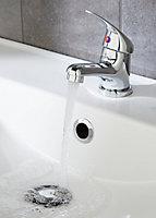 Mitigeur de lavabo chromé Arborg