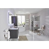 Mitigeur de lavabo chromé Hansgrohe Mysport L