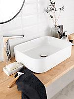 Mitigeur de lavabo chromé pivotant GoodHome Teesta L