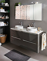 Mitigeur haut de lavabo chromé GoodHome Laugar