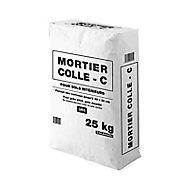Mortier colle C gris 25 kg
