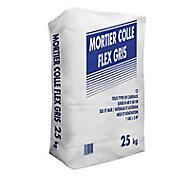 Mortier colle spéciale sols et murs extérieurs Flex C2 25kg