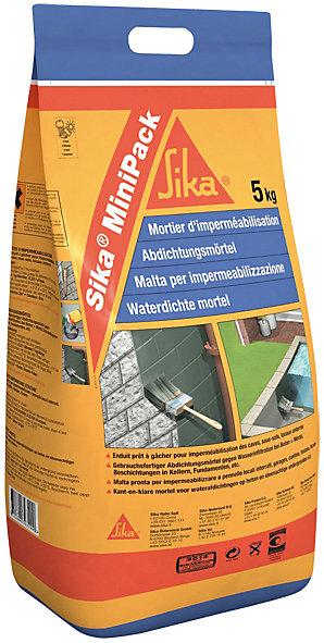 Mortier Rapide Sika Minipack 5 Kg Castorama
